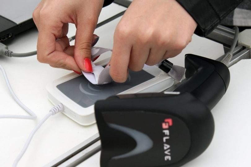 Verknüpfung des Smart Badge mit NFC
