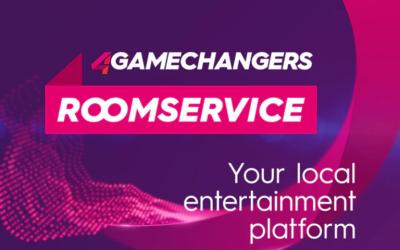 Der 4GAMECHANGERS Roomservice eröffnet seine virtuelle Bühne